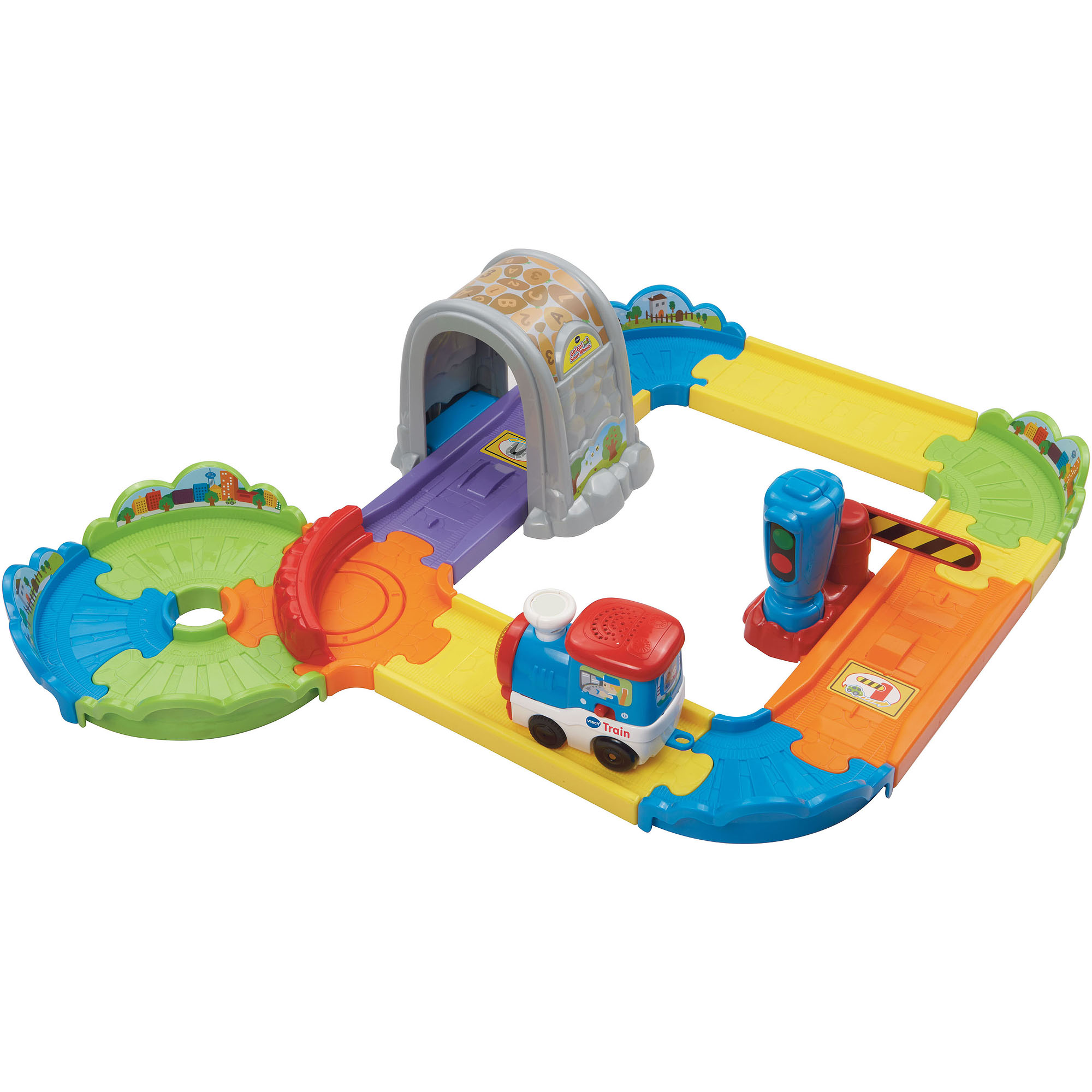 VTech Go! Go! Smart Wheels Choo-Choo Train Play Set
