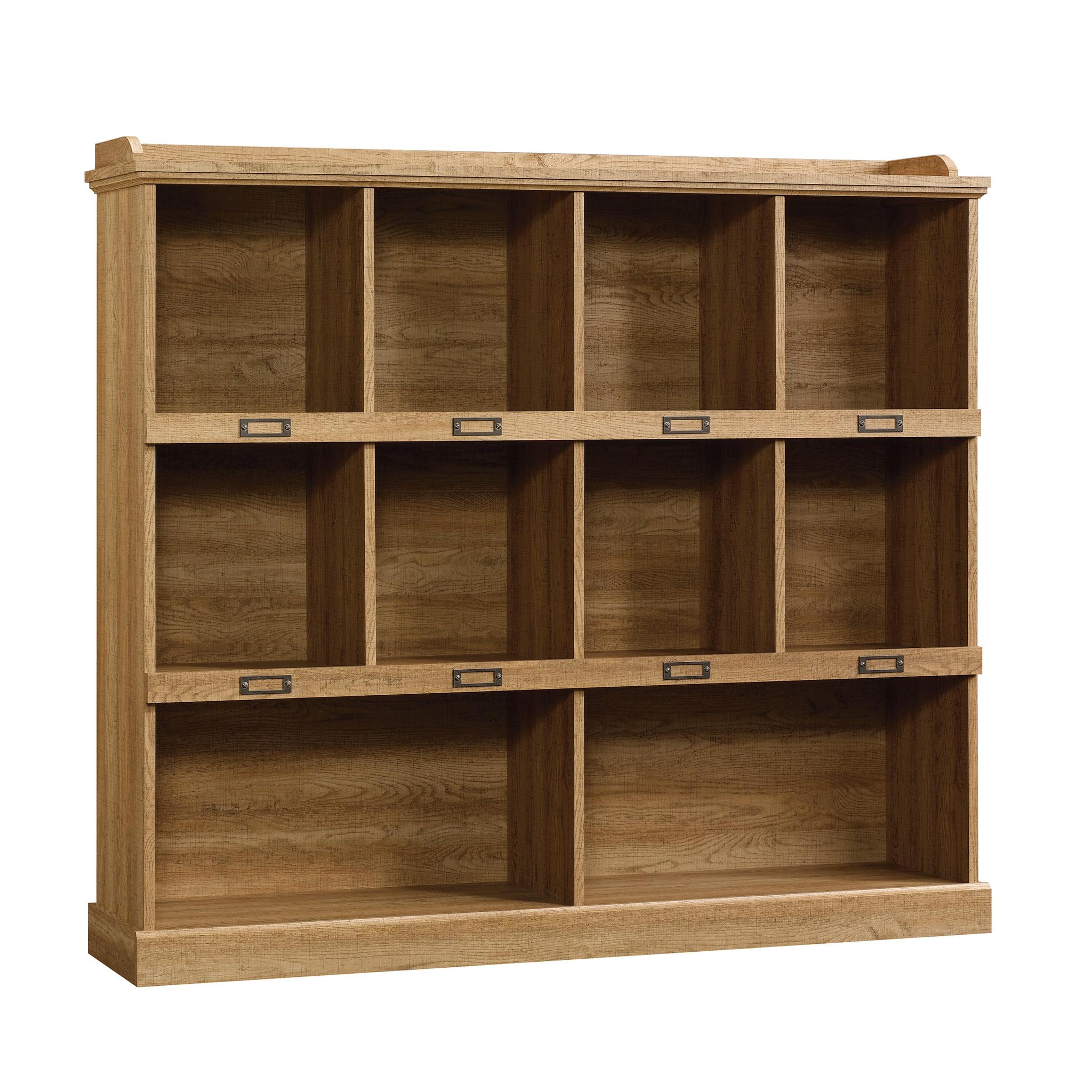 Sauder Barrister Lane Bookcase Salt Oak Finish Walmart Com
