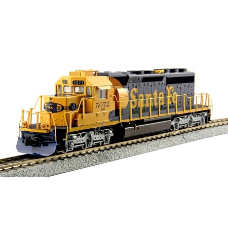 Kato 376616 HO Santa Fe EMD SD40-2 Mid-Production Diesel Locomotive w/DCC #5072