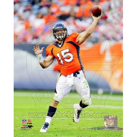 Tim Tebow 2011 Action Sports Photo