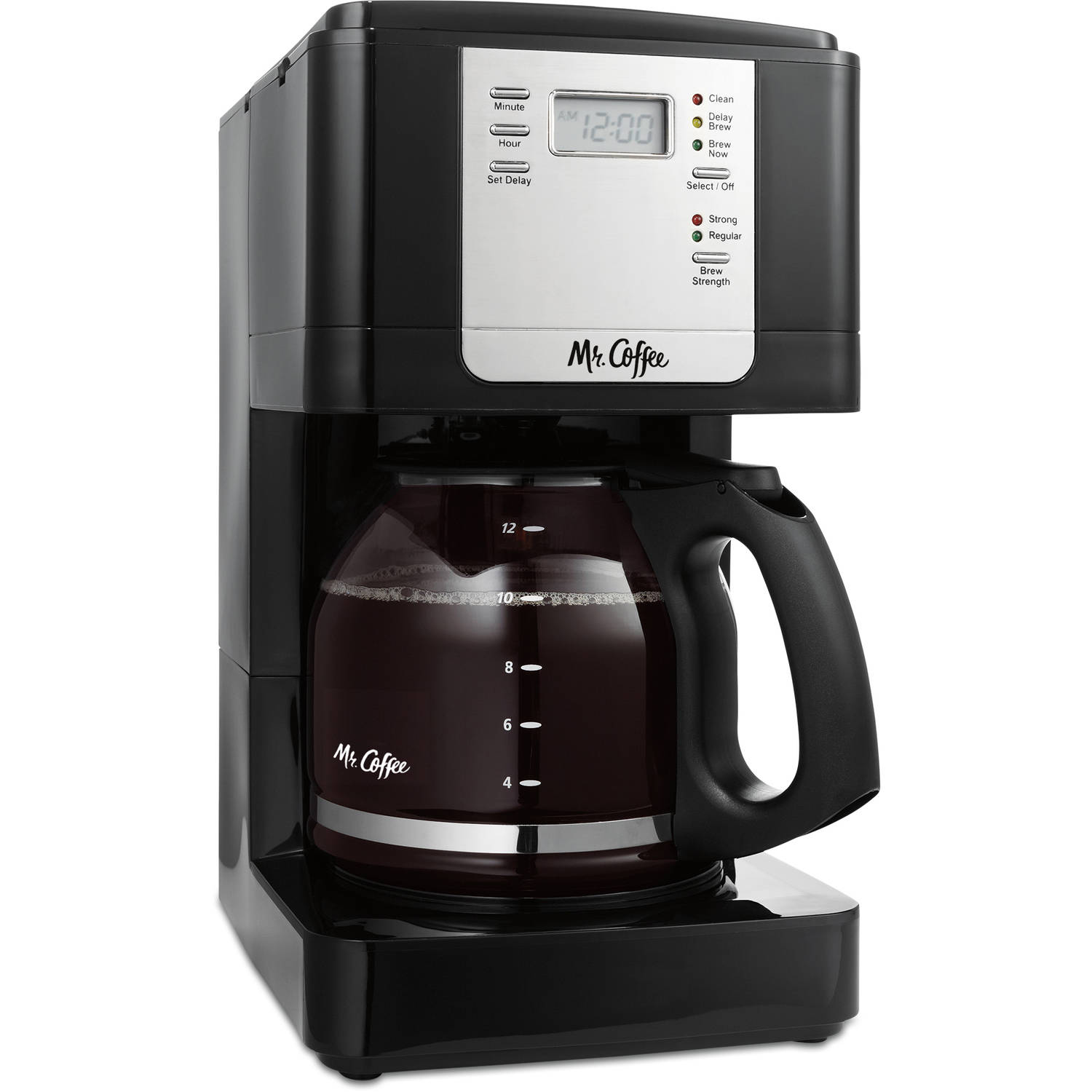 Mr. Coffee 12-Cup Programmable Coffee Maker, JWX23WM