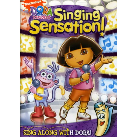 Dora The Explorer: Singing Sensation! (DVD) Dora The Explorer Video
