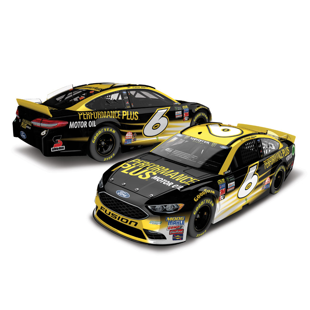 Action Racing Trevor Bayne 2017 #6 Performance Plus 1:24 Monster Energy Nascar Cup Series... by Lionel LLC