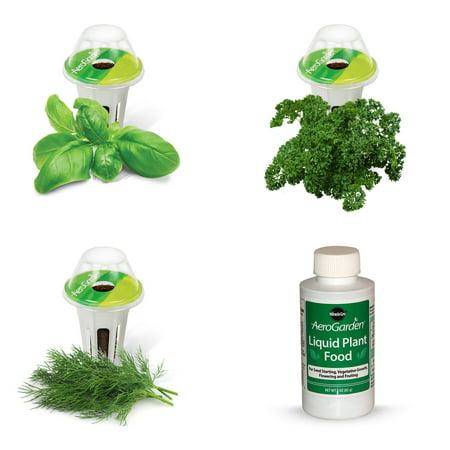 Miracle-Gro AeroGarden Gourmet Herb Seed Pod Kit (3-Pod) ()