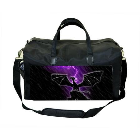 Jack Spade Luggage (Black Lightening Dragon -Jacks Outlet TM Weekender)
