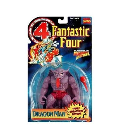 Marvel Comics Fantastic Four Dragon Man (1995) Toy Biz Action Figure