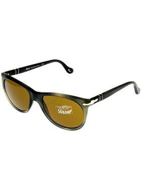 6ac33100ee Product Image Persol Sunglasses Men Grey Havana Wayfarer 100% UV Protection  PO3097S 101733 Size  Lens