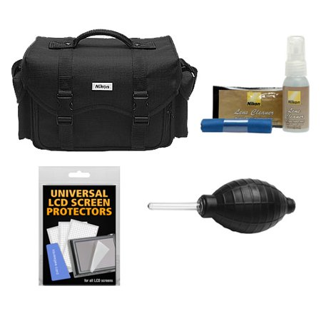 Buy Nikon 5874 Digital SLR Camera System Case, Gadget Bag with Nikon Cleaning Accessory Kit for D3100, D3200, D3300, D5100, D5200, D5300, D7000, D7100, D610, D800, D810, D4s Before Too Late