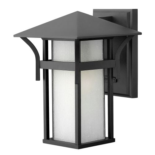 """Hinkley Lighting 2570 10.5"""" Height 1-Light Lantern Outdoor Wall Sconce from the Harbor Collection"""