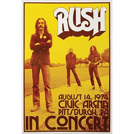 Rush - Concert Poster Print   24x36 for $<!---->