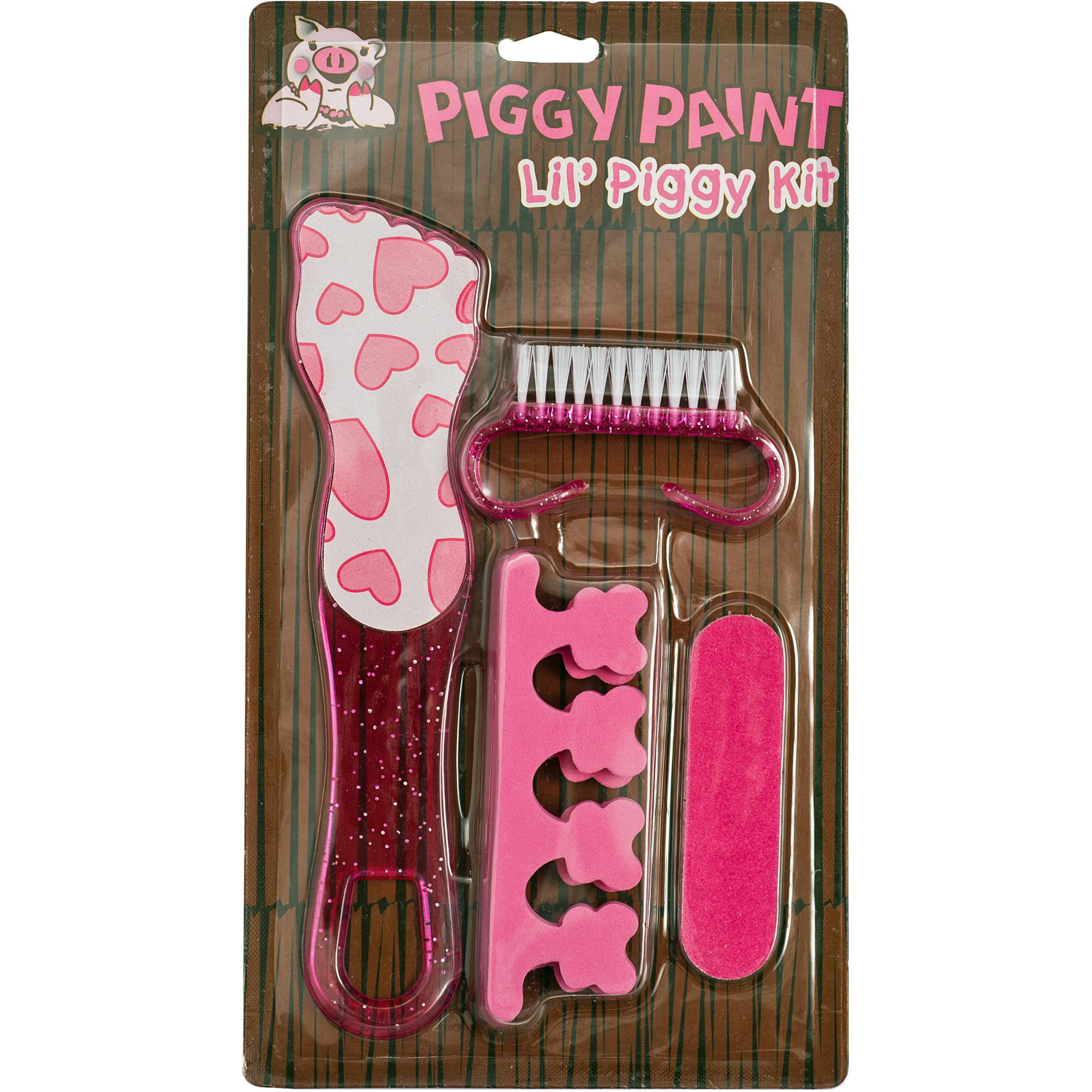 Piggy Paint Lil' Piggy Pedicure Set, 4 pc