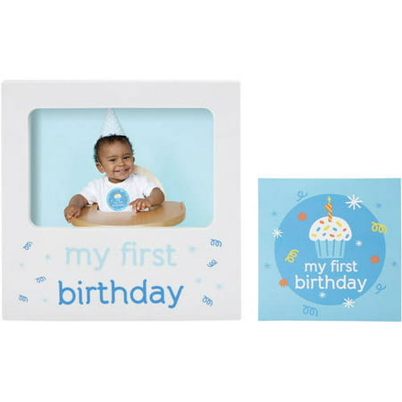 Tiny Ideas Birthday Belly Sticker and Frame Set ()