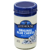 Litehouse Original Bleu Cheese Dressing & Dip 13 fl oz Jar