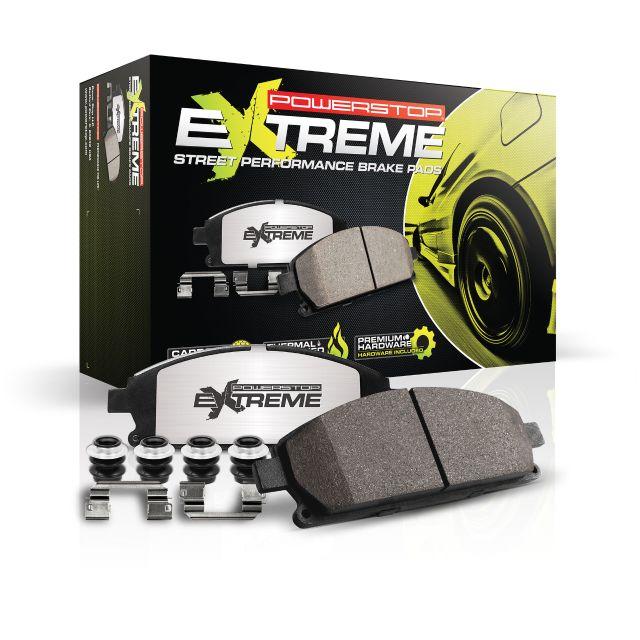 Z26 Front Carbon-Fiber Ceramic Brake Pads Power Stop Z26-1107