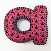 Sassy Shaylee Letter Pillow