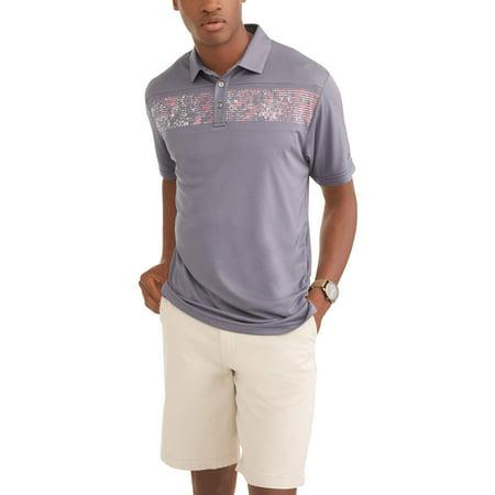 Men's Performance Short Sleeve Premium Lightweight Polo Shirt, Up To Size