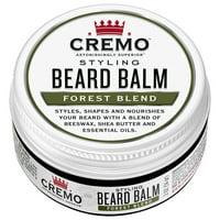 Cremo Beard Balm, Forest Blend, 2 oz