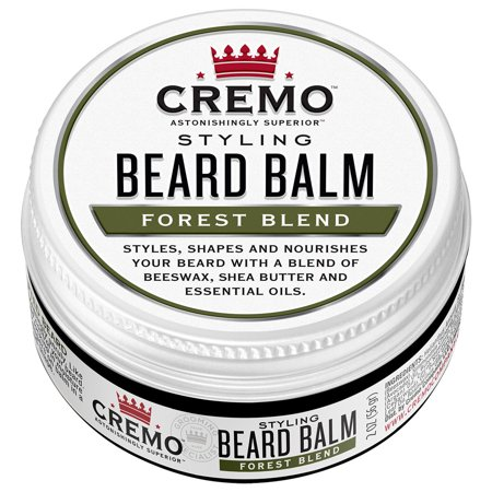 Cremo Beard Balm, Forest Blend, 2 oz