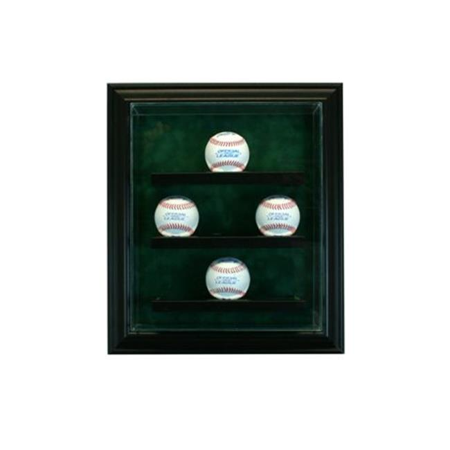 Perfect Cases PC-9BSCB-B 9 Baseball Cabinet Style Display...