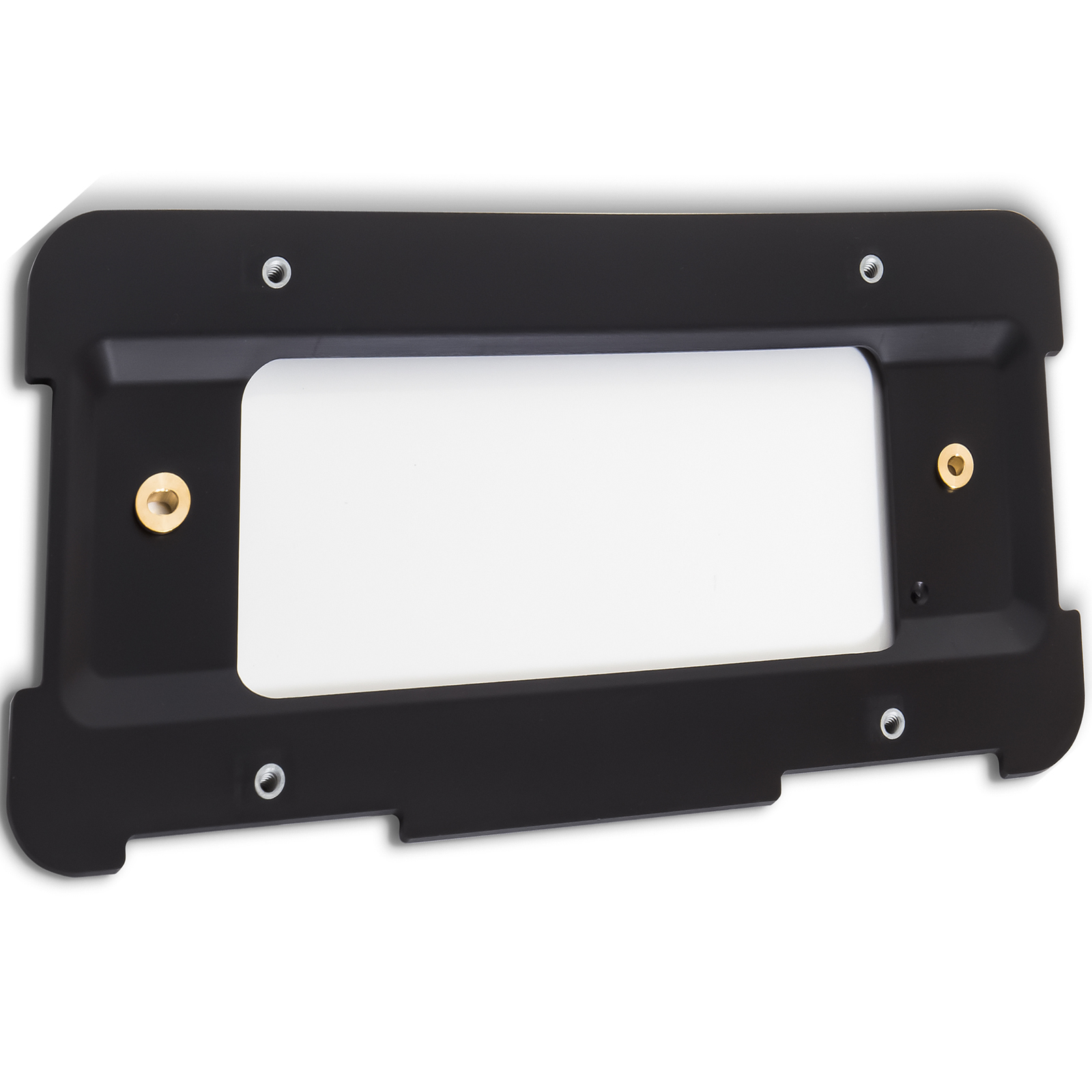 I-Match Auto Parts Front License Plate Bracket Tag Holder Replacement For 2014-2016 Toyota Corolla Sedan TO1068123 5211402090 Black Textured