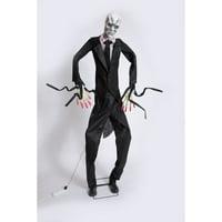 Animated Tall Slim Man Prop
