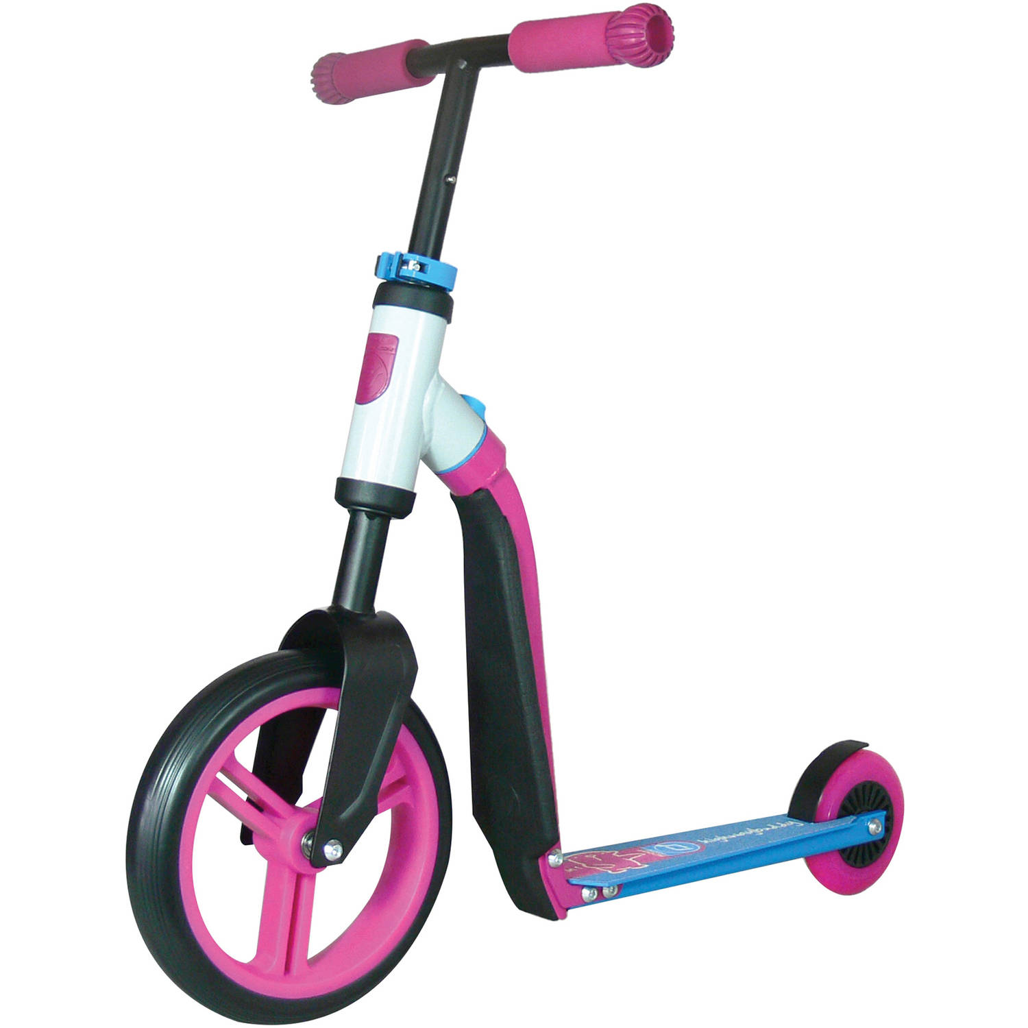 Schylling Scoot and Ride Highway Ride-On, Pink/Blue