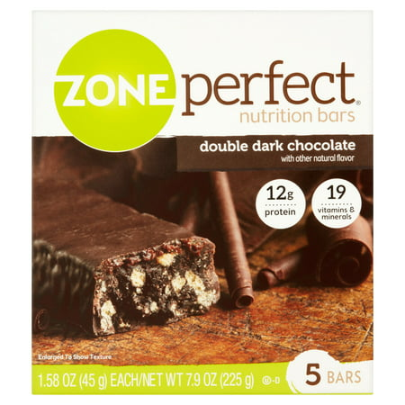 ... Perfect Nutrition Bars, Double Dark Chocolate, 5 pack - Walmart.com