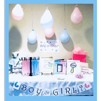 ULTIMATE Gender Reveal Party Kit-50 Participants