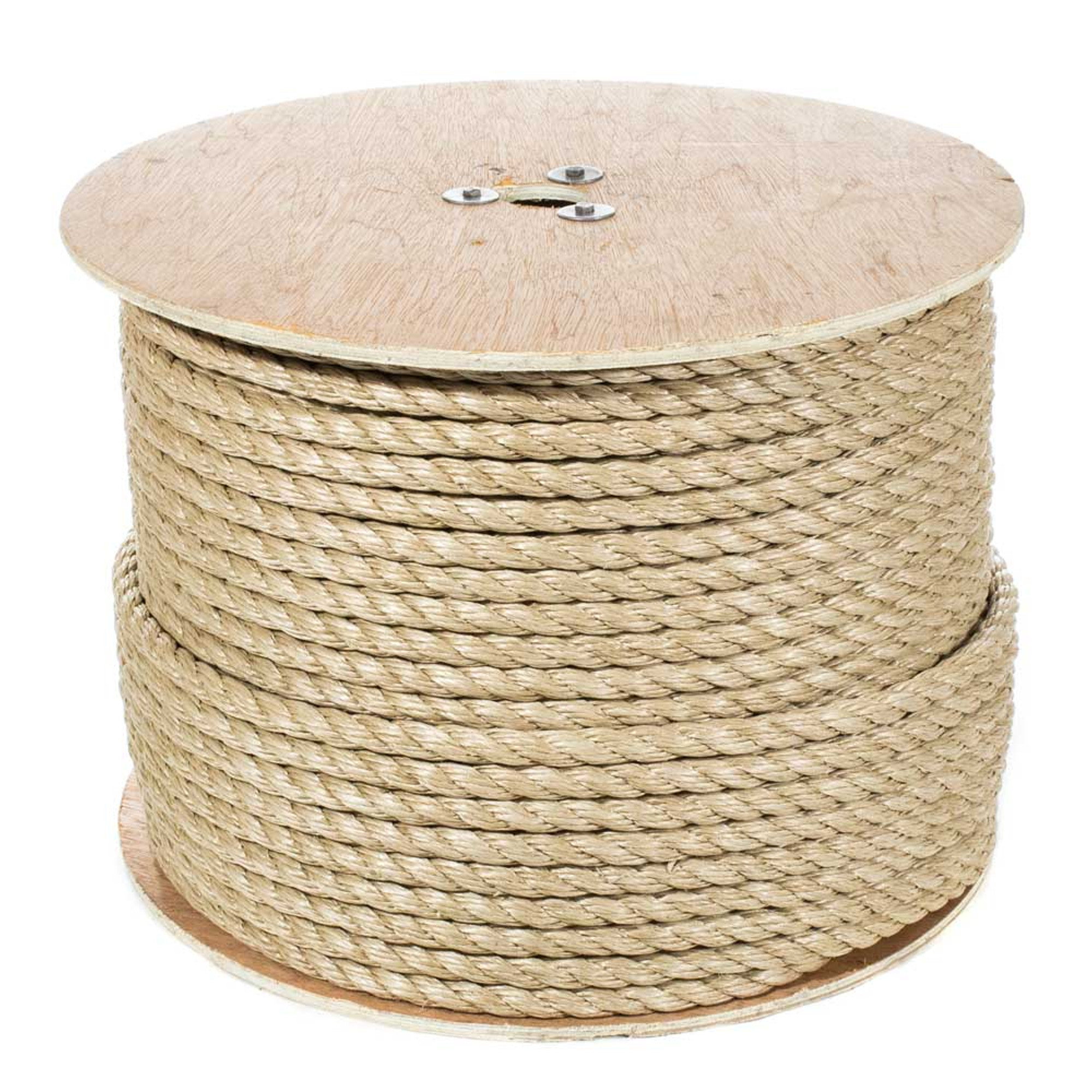 UnManila 3//4 inch Diameter ProManila 50 25 100 Feet Paracord Planet Polypro Rope Available in Lengths of 10
