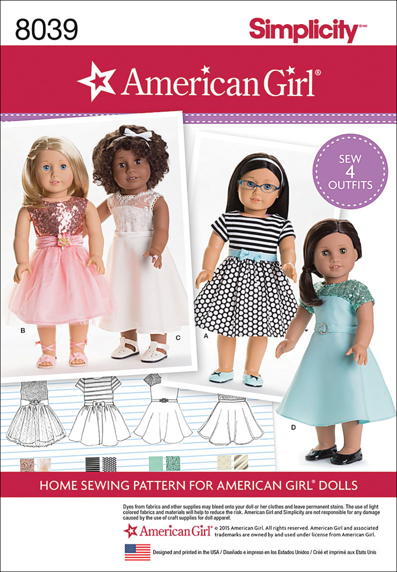 18 Doll Clothes Patterns Magnificent Design Inspiration