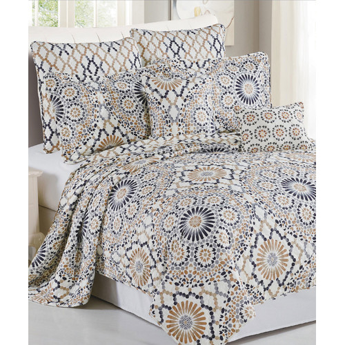 Serenta Tradewinds 7 Piece Quilt Set