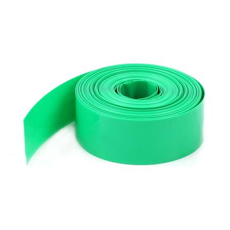 5m 16.4ft 23mm PVC Heat Shrink Wrap Tubing Wire f 1 x AA Battery