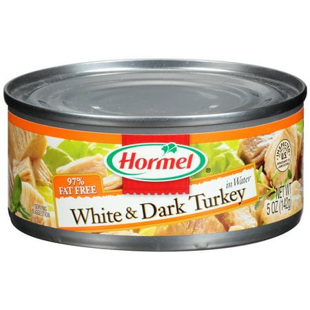 Hormel White   Dark Turkey In Water 5 Oz  Can