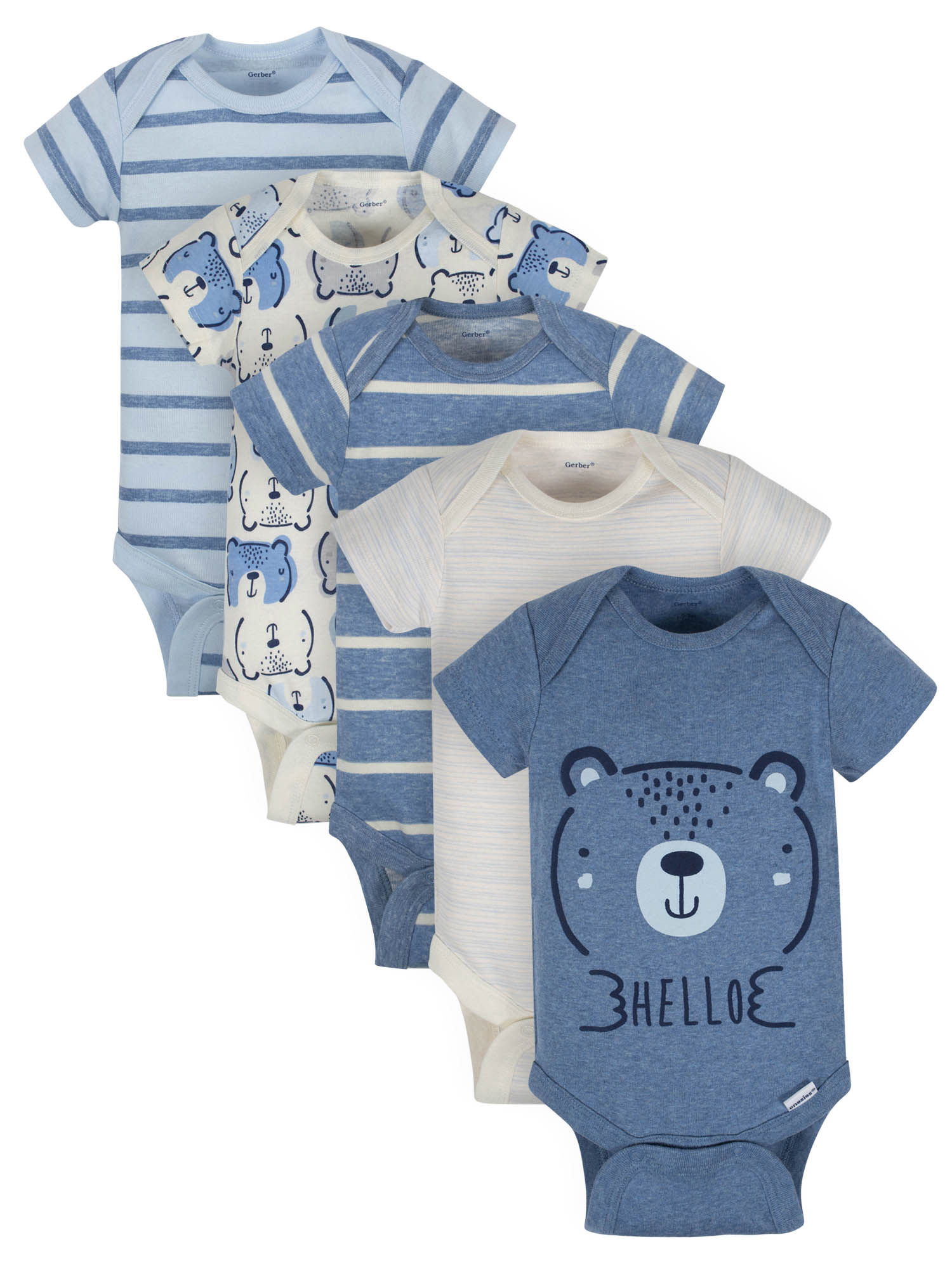 Gerber Organic Bodysuit & Pant Set (Baby Boys)