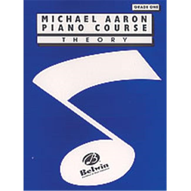 Alfred 00-11001TH Michael Aaron Piano Course- Theory- Grade 1 - Music Book