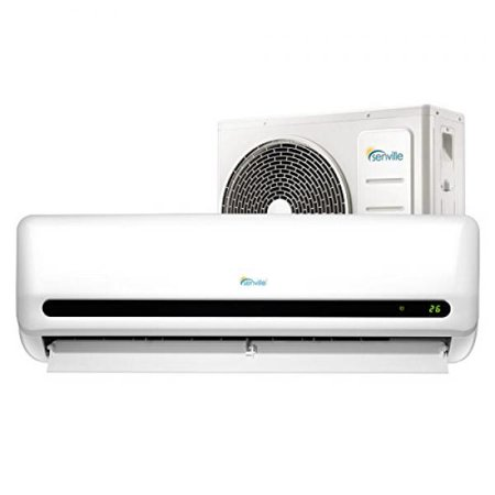 Senville SENL-12CD 12000 BTU 15 SEER Split Air Conditioner and Heat Pump, Mini