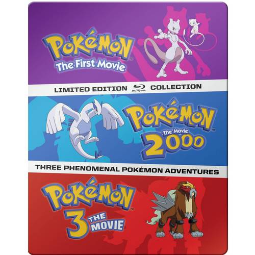 Pokemon Movies 1-3 (Limited Edition Collection) (Blu-ray)