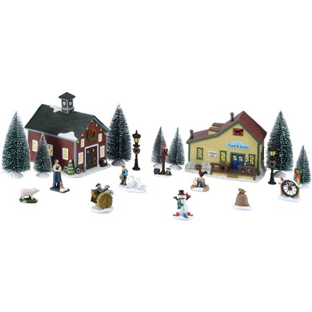 Holiday Time 20 Piece Christmas Village