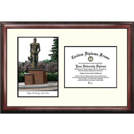 michigan state university spartan 85 x 11 scholar diploma frame - Michigan State Diploma Frame