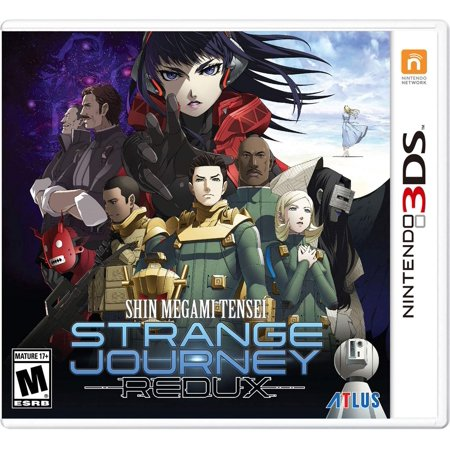 Shin Megami Tensei: The Strange Journey Redux, Atlus, Nintendo 3DS, (Best Atlus Games For 3ds)