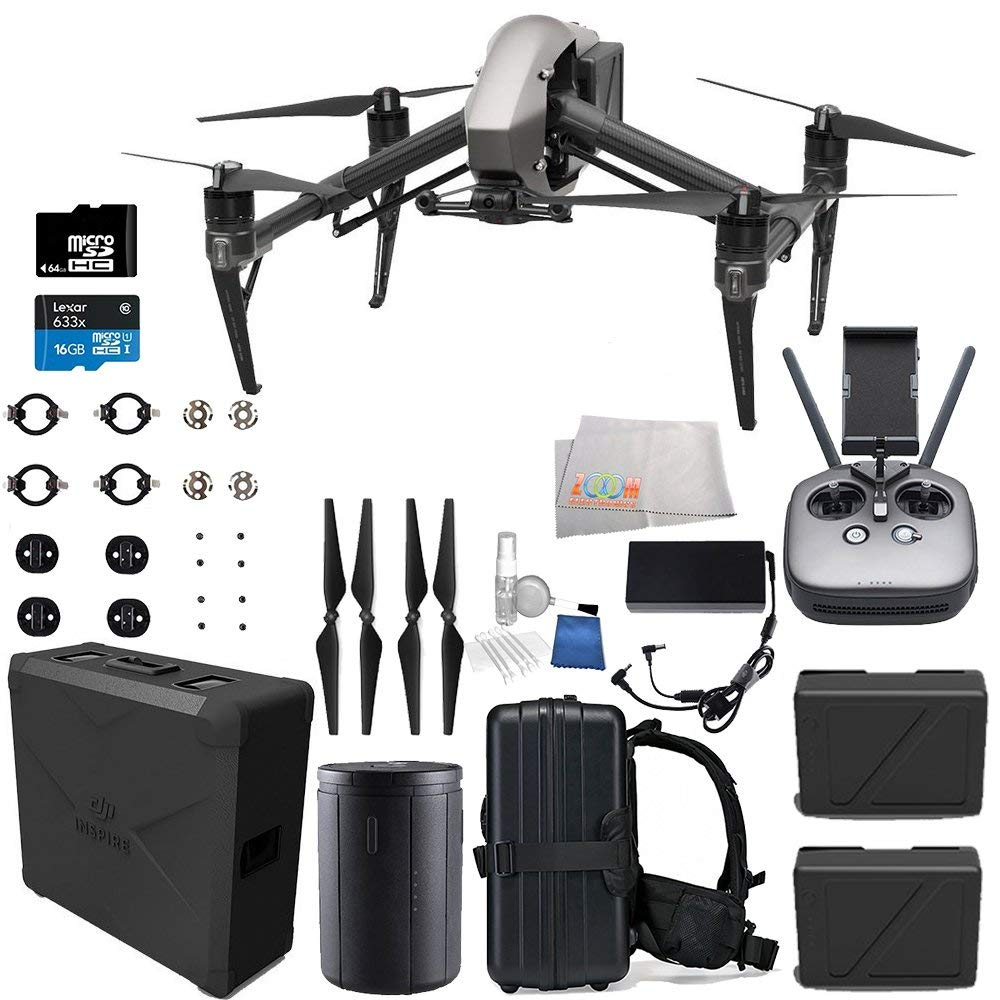 DJI Inspire 2 Quadcopter Starters Backpack Adapter Bundle - image 3 of 9
