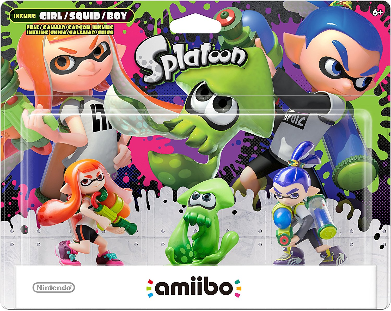 Splatoon 3-pack amiibo (Splatoon Series), New Import Nintendo Alt Album Premium 2Pack Retail Item Tempered... by