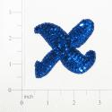 Expo Int'l Letter X Sequin Applique