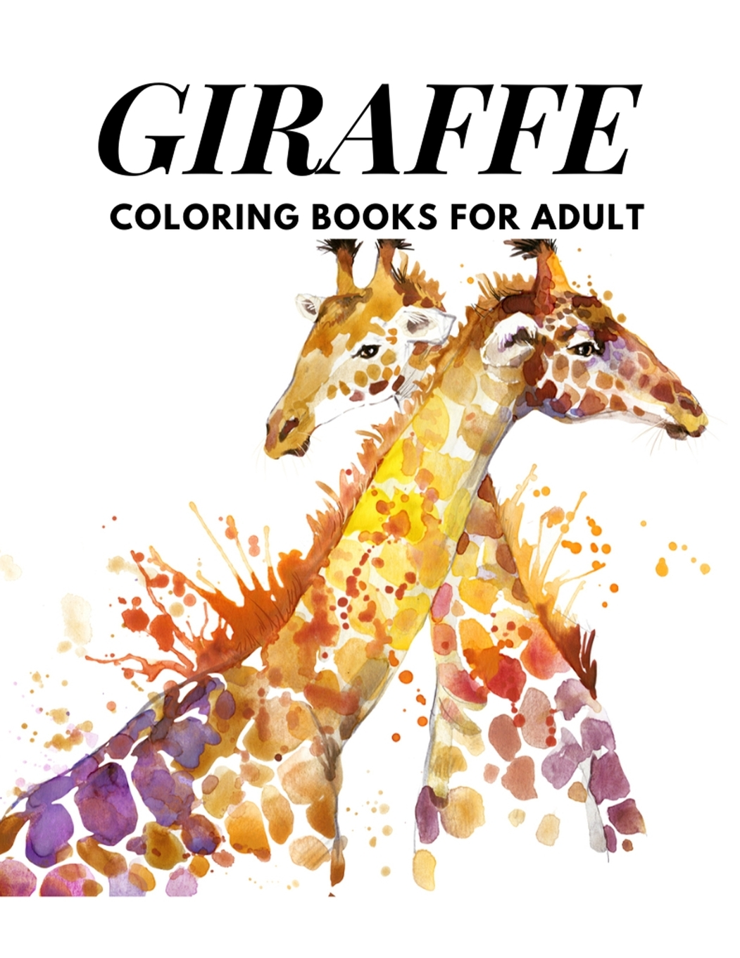 Giraffe Coloring Books For Adults: Relaxing Coloring Book For Grownups  Designs With Henna, Paisley And Mandala Style Patterns Animal Coloring Books  (Paperback) - Walmart.com - Walmart.com