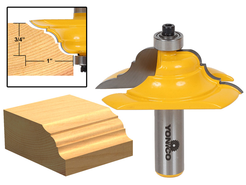 Table Edge Router Bit French Baroque 13133 by Yonico