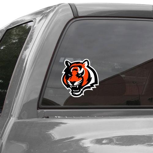 Cincinnati Bengals WinCraft Alt Logo 6'' x 6'' Color Decal - No Size