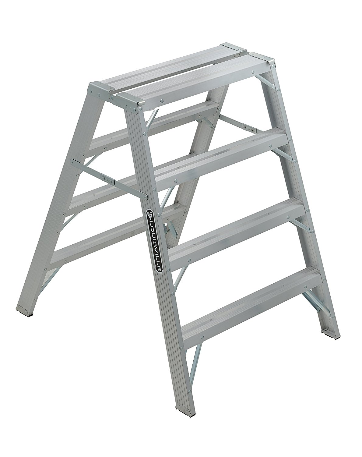 Louisville Ladder L 2032 04 Sawhorse Aluminum 4 Foot