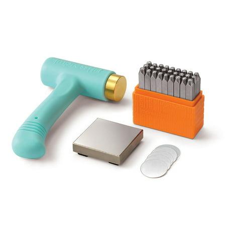 - ImpressArt Metal Punch Stamping Kit, Uppercast Stamps San Serif Font 3mm, 1 Set