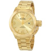 Canteen Gold Sunray Dial Mens Watch CB102