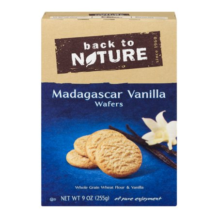 Back To Nature Madagascar Vanilla Wafers, 9.0 OZ